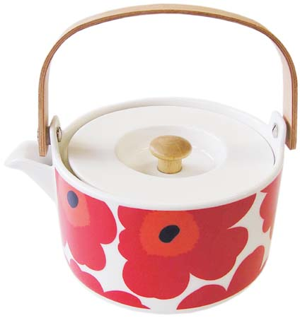 marimekko マリメッコ UNIKKO TEA POT 7DL
