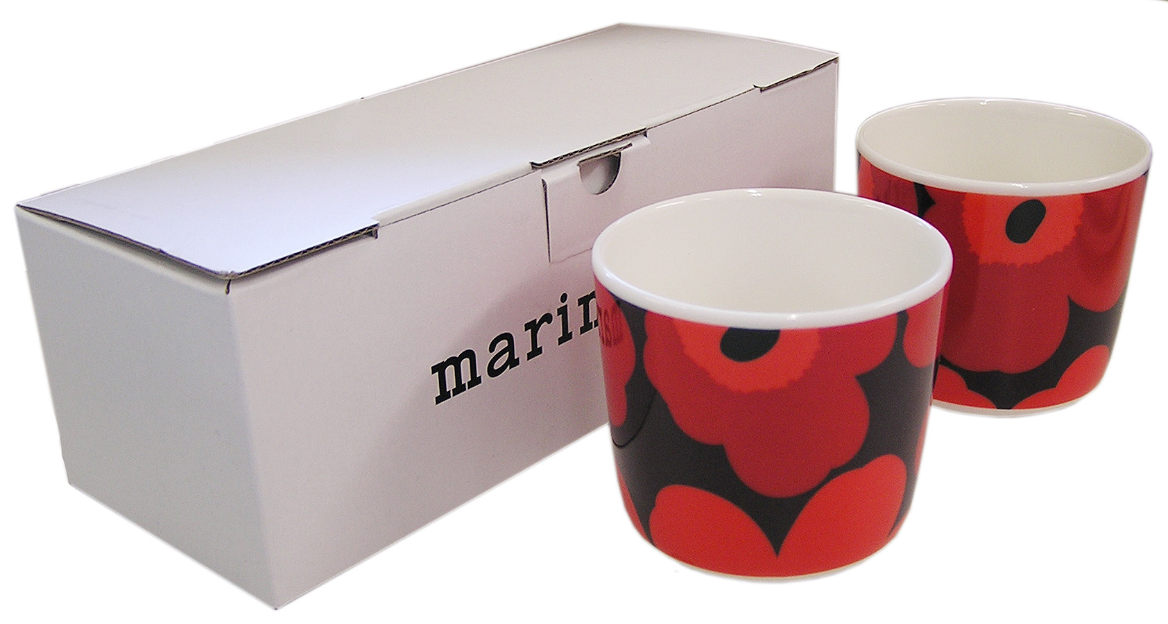 marimekko マリメッコ UNIKKO COFFEE CUP 2PCS SET