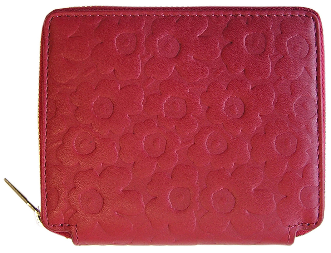 マリメッコ marimekko PETRA LEATHER WALLET